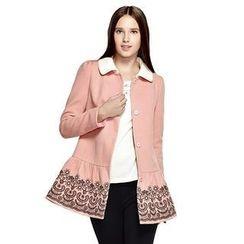 O.SA - Embroidered Coat