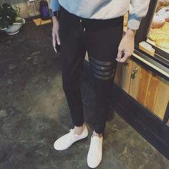 Rory Jerry - 條紋哈倫褲