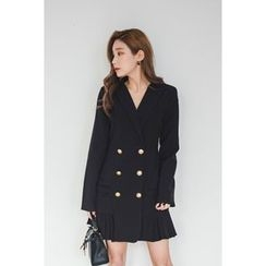 migunstyle - Double-Breasted Coatdress
