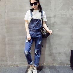 Romantica - Distressed Jumper Jeans