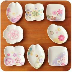 Momoi - Sakura Print Sauce Dish