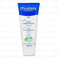 Mustela - 2合1发肤沐浴露