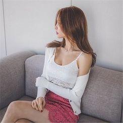 ERANZI - Lace Camisole Top