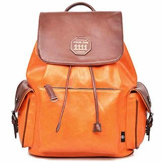 Fourone - Drawstring Flap Backpack