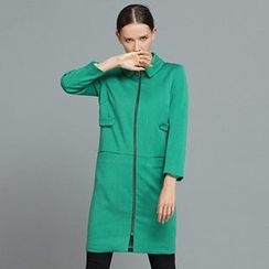 YiGelila - Zip-Up Trench Coat