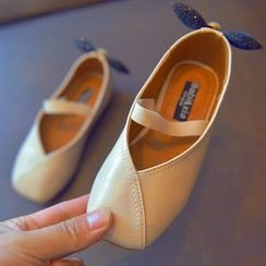 BOOM Kids - 小童蝴蝶结平跟鞋