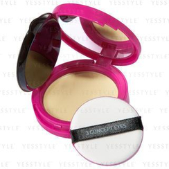3 CONCEPT EYES - Pink Creamy Compact Foundation (#21 Light Beige)