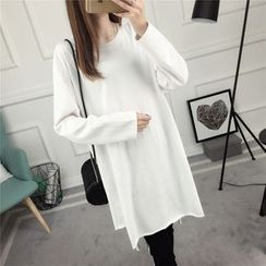 Loytio - Plain Long-Sleeve Tunic