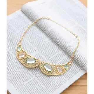 Petit et Belle - Jewel-Cut Collar Necklace
