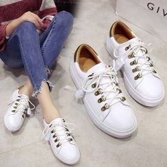 Shoeland - Lace Up Sneakers