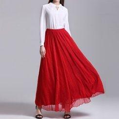 Dream a Dream - Chiffon Maxi  Skirt