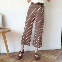 Mayflower - Dotted Straight Cut Pants