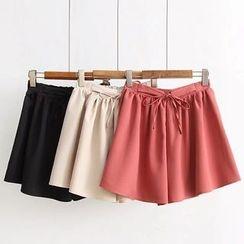 白金天使 - 纯色裙裤