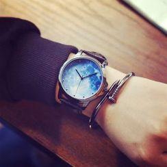 Honey Bee - 星空印花帶式手錶