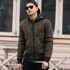 Mannmix - Quilted Bomber Jacket
