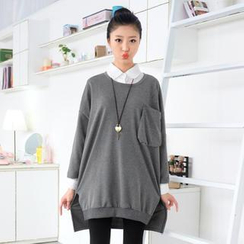 59 Seconds - Oversized 3/4-Sleeved Top