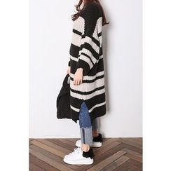 PPGIRL - 3/4-Sleeve Striped Knit Dress