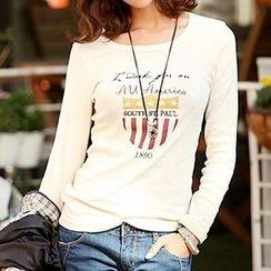 Lina - Print T-Shirt