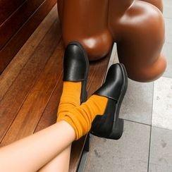 Charming Kicks - 纯色乐福鞋