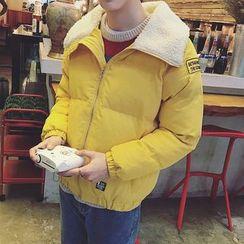 Besto - Fleece Collar Padded Jacket