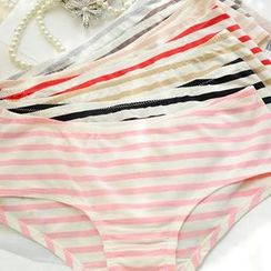 QIANLEE - Striped Panties