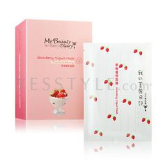 My Beauty Diary - Strawberry Yogurt Mask (English Version)