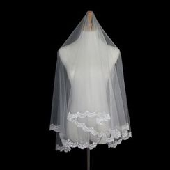 Sky n Sea - Lace Wedding Veil
