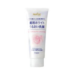 Kracie - Kracie Naive White Rose Hip Facial Cleansing Foam