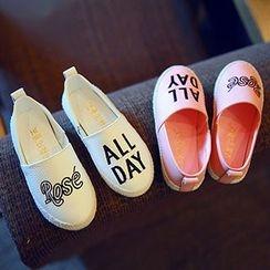 BOOM Kids - 童裝字母輕便鞋