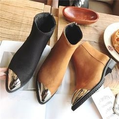 Hipsole - Metal-Tip Ankle Boots