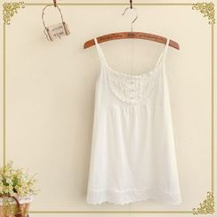 Fairyland - Lace Yoke Camisole Top