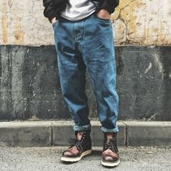 Milioner - Washed Tapered Jeans