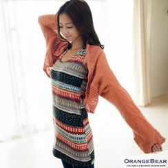 OrangeBear - Patterned Long Tank Top