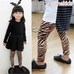 nanakids - Girls Leopard Leggings