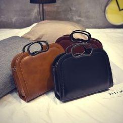Rosanna Bags - Metal Handle Shoulder Bag