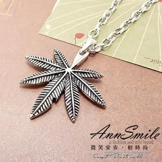 AnnSmile - Leaf Necklace