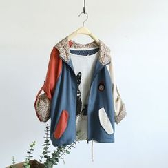 Ranche - Colour Block Hooded Jacket