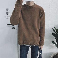 JUN.LEE - Plain Sweater
