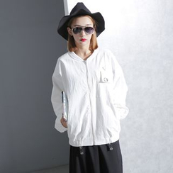 Sonne - Zipper Light Baseball Jacket