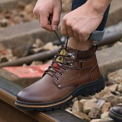 MARTUCCI - Lace-Up Chukka Boots