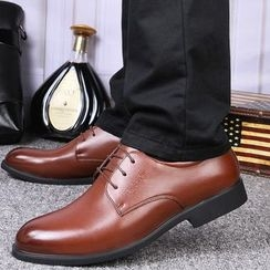 MARTUCCI - Fleece-Lined Lace-Up Shoes