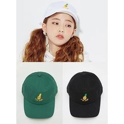 icecream12 - Pineapple Embroidered Baseball Cap