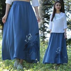 Diosa - Floral Maxi Skirt