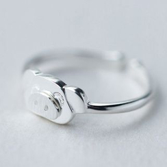 A'ROCH - Pig 925 Sterling Silver Open Ring