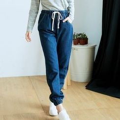 BAIMOMO - 水洗牛仔褲
