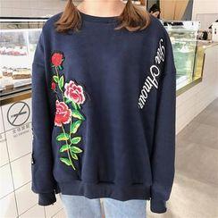 Bloombloom - Embroidered Sweatshirt