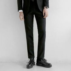 Seoul Homme - Wool Blend Dress Pants