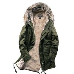 JUNO CLUB - Fleece-Lined Flap-Pocket Parka