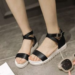 Shoes Galore - Ankle Strap Sandals