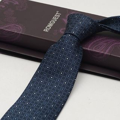 Romguest - Patterned Silk Neck Tie (9cm)